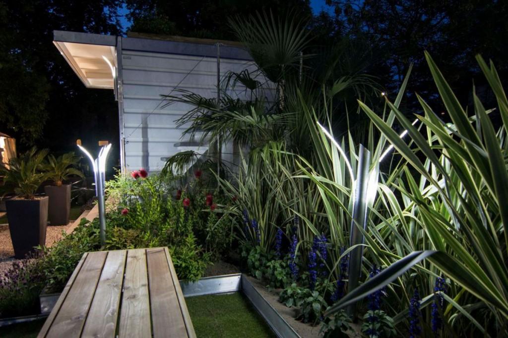 illuminazione giardino led design