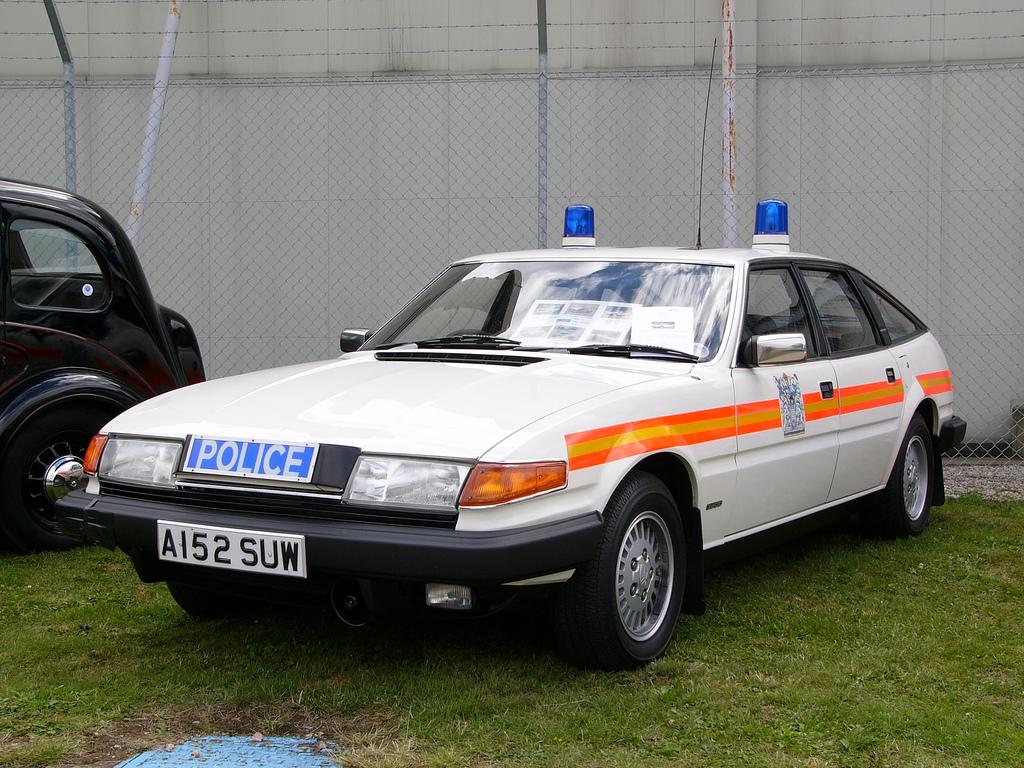 Rover SD1 della polizia