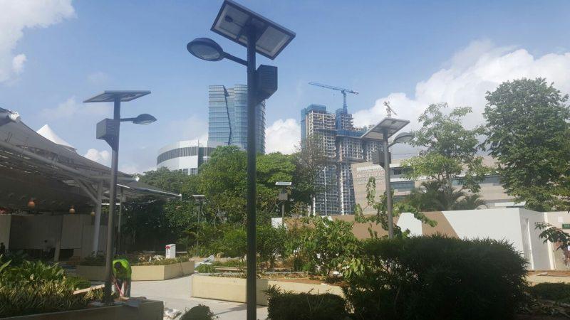 Lampioni Solari da Giardino con Pannello