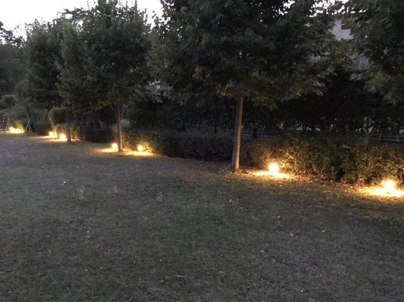 Illuminazione vialetti esterni con luci a led modena design